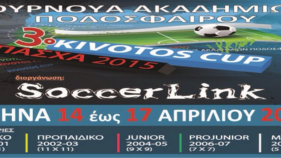 3ο Τουρνουά Ποδοσφαίρου Kivotos Cup